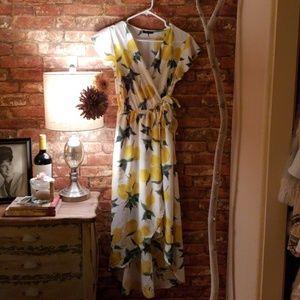 High Low Wrap dress !